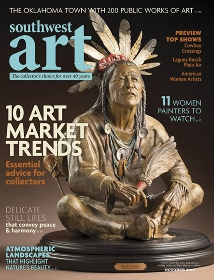 Southwest Art Cover - 10/1/2017