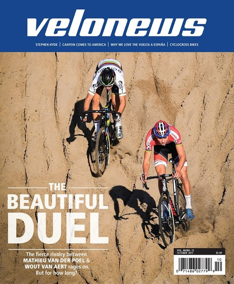 VeloNews Cover - 10/1/2017