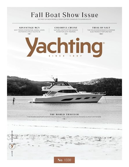 Yachting Cover - 10/1/2017