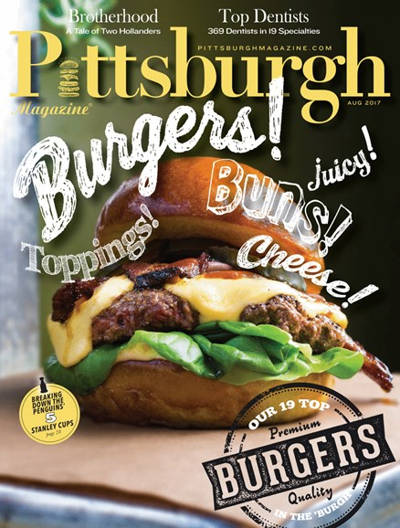 Pittsburgh Magazine Cover - 8/1/2017