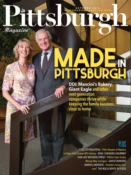 Pittsburgh Magazine Cover - 10/1/2015