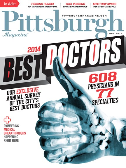 Pittsburgh Magazine Cover - 5/1/2014