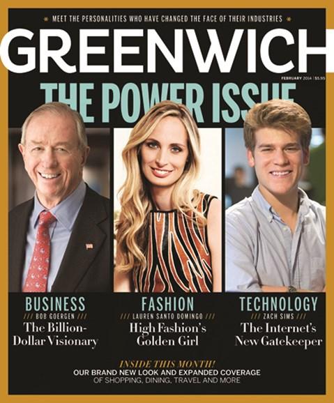 Greenwich Cover - 2/1/2014