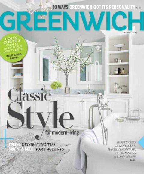 Greenwich Cover - 5/1/2015