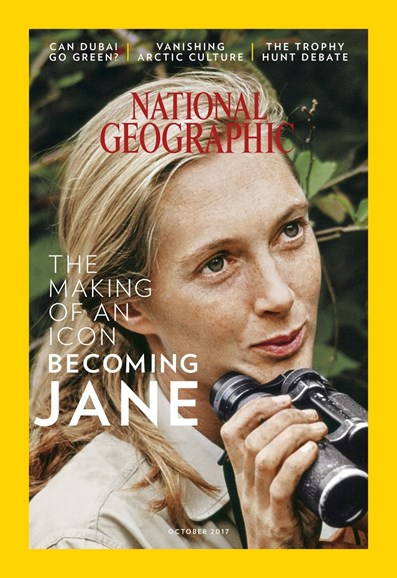National Geographic Cover - 10/1/2017