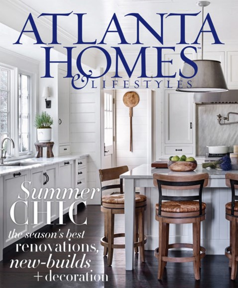 Atlanta Homes & Lifestyles Cover - 8/1/2017