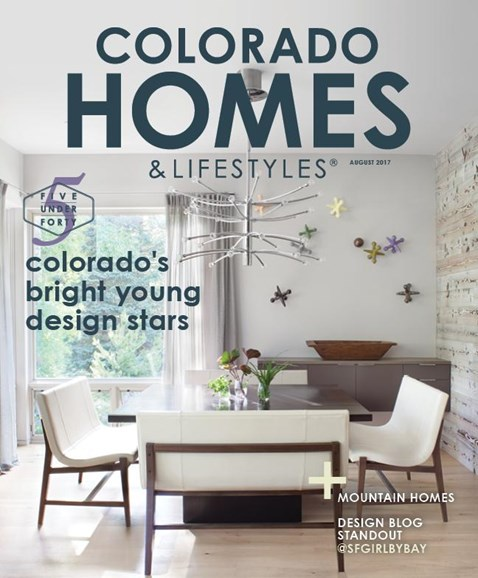 Colorado Homes & Lifestyles Cover - 8/1/2017
