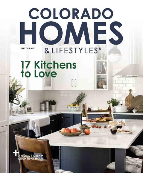Colorado Homes & Lifestyles Cover - 9/1/2017