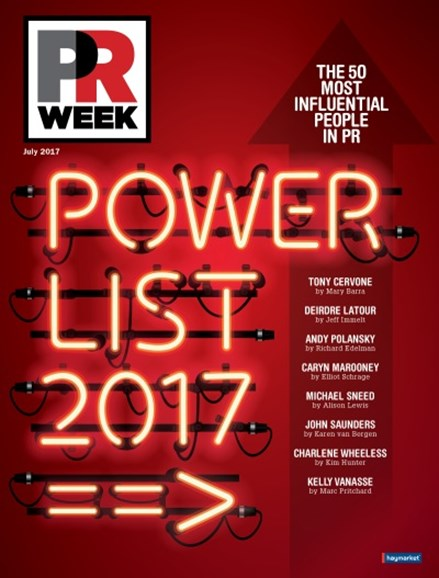 PRWeek Cover - 7/1/2017