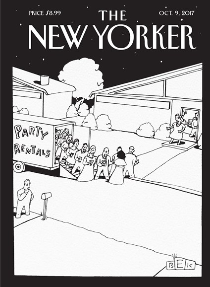The New Yorker Cover - 10/9/2017