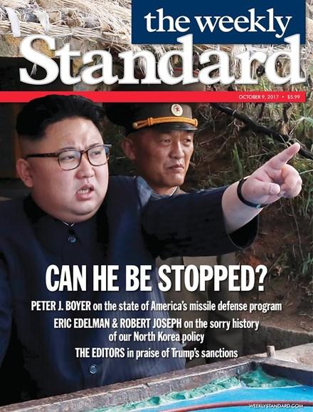 Washington Examiner Cover - 10/9/2017