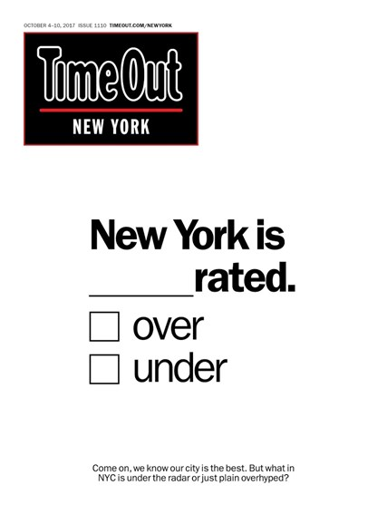 Time Out New York Cover - 10/4/2017