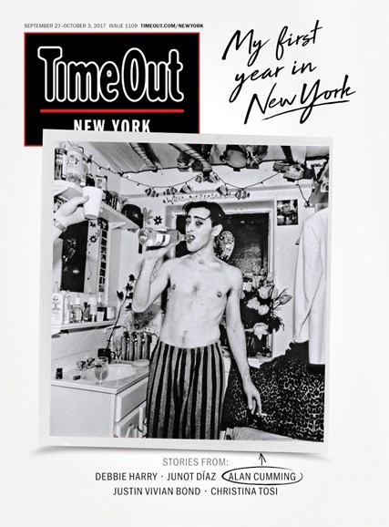 Time Out New York Cover - 9/27/2017