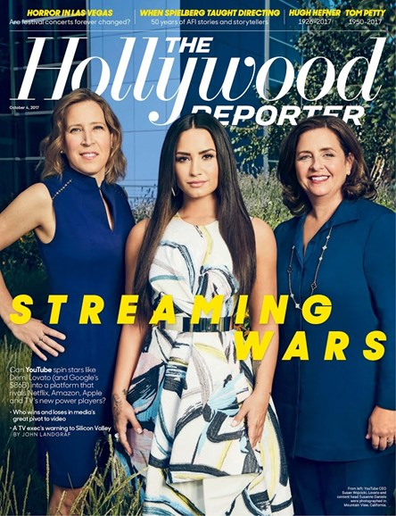 The Hollywood Reporter Cover - 10/4/2017