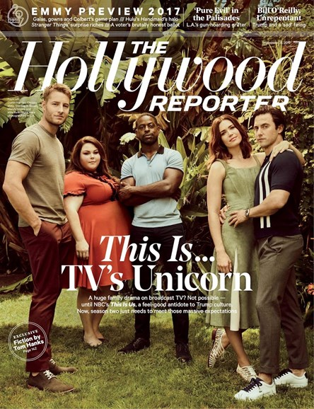 The Hollywood Reporter Cover - 9/13/2017