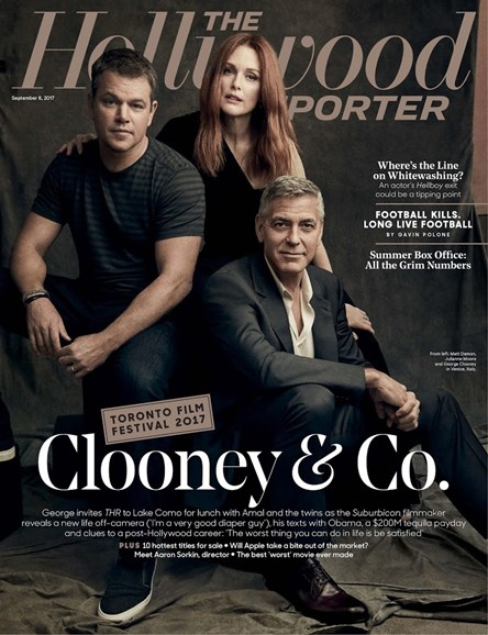 The Hollywood Reporter Cover - 9/6/2017