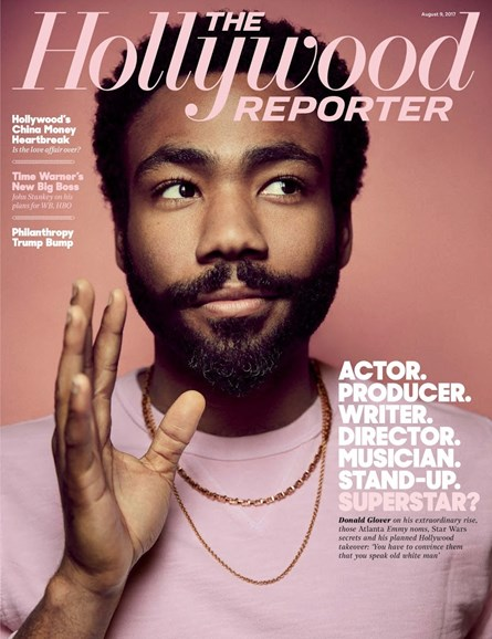 The Hollywood Reporter Cover - 8/9/2017
