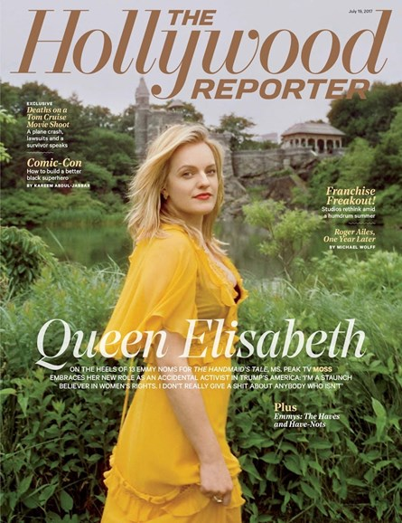 The Hollywood Reporter Cover - 7/19/2017
