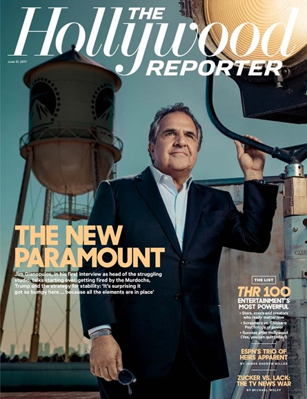 The Hollywood Reporter Cover - 6/21/2017