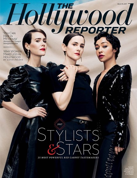 The Hollywood Reporter Cover - 3/15/2017