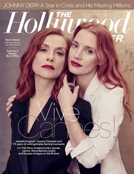 The Hollywood Reporter Cover - 5/10/2017
