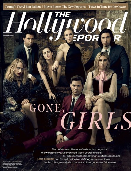 The Hollywood Reporter Cover - 2/10/2017