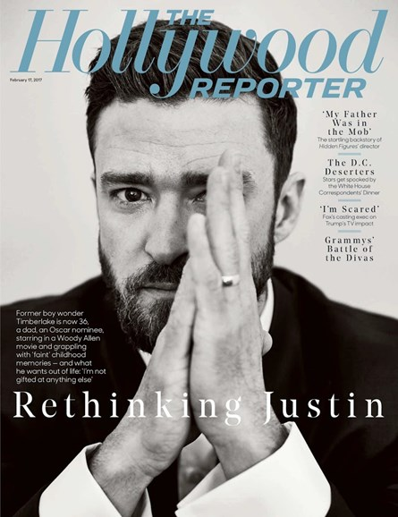 The Hollywood Reporter Cover - 2/17/2017