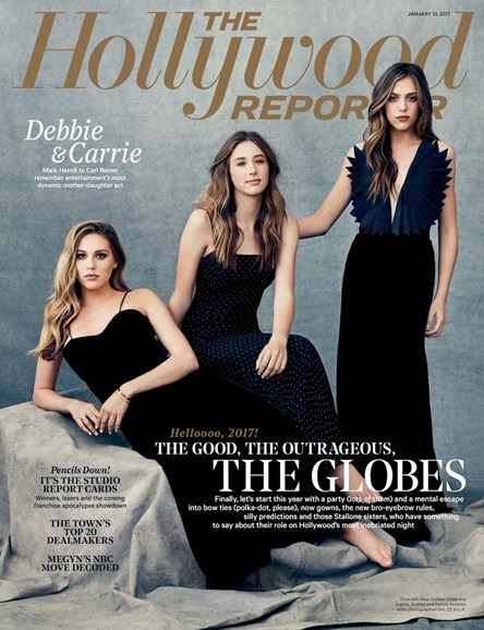 The Hollywood Reporter Cover - 1/13/2017