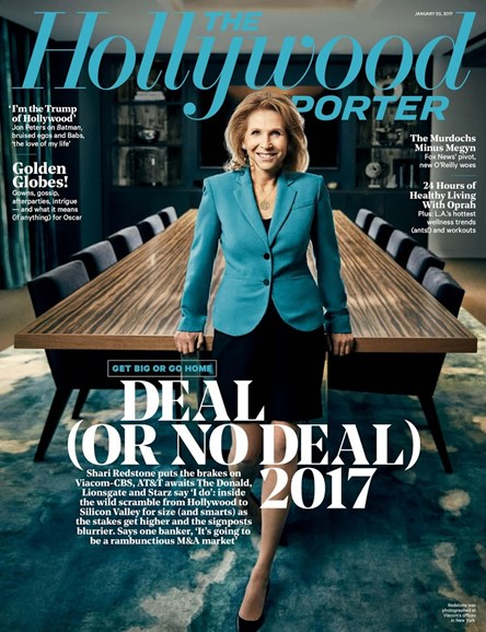 The Hollywood Reporter Cover - 1/20/2017