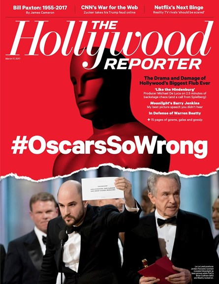 The Hollywood Reporter Cover - 3/10/2017