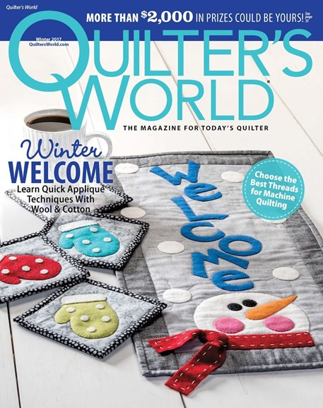 Quilter's World Cover - 12/1/2017