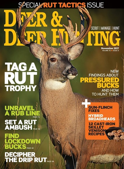 Deer & Deer Hunting Cover - 11/1/2017