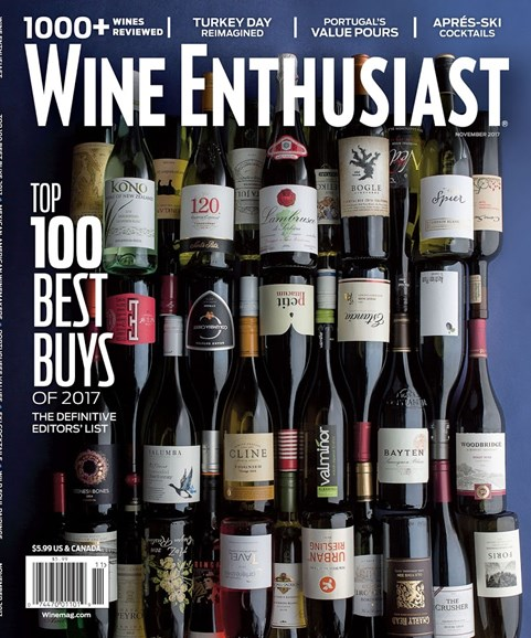 Wine Enthusiast Cover - 11/1/2017