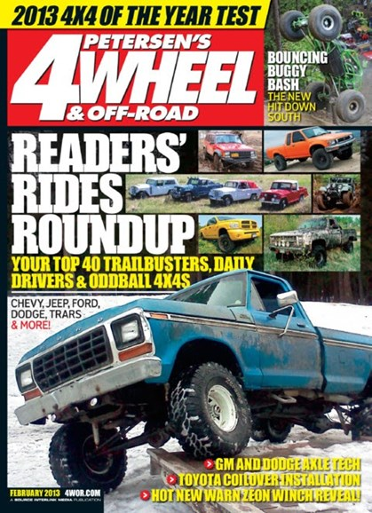 4 Wheel & Off-Road Cover - 2/1/2013