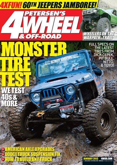 4 Wheel & Off-Road Cover - 1/1/2013