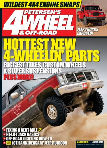 4 Wheel & Off-Road Cover - 3/1/2013