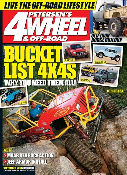 4 Wheel & Off-Road Cover - 9/1/2014
