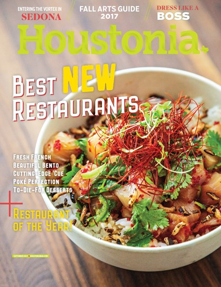 Houstonia Cover - 9/1/2017