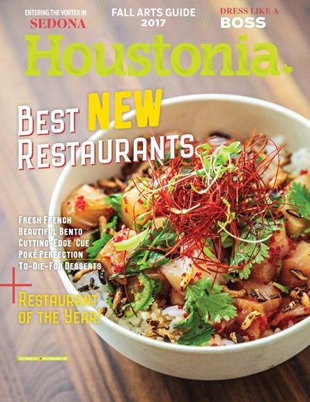 Houstonia Cover - 9/1/2017