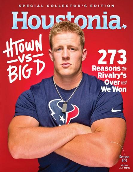 Houstonia Cover - 8/1/2013