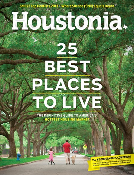 Houstonia Cover - 6/1/2013