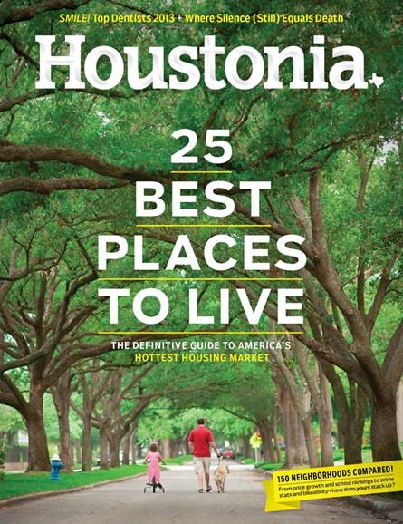 Houstonia Cover - 6/1/2013