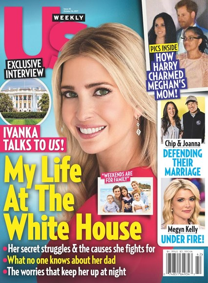 Us Weekly Cover - 10/16/2017