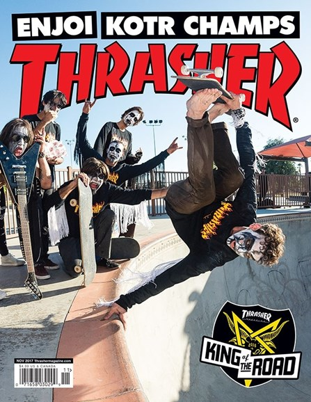 Thrasher Cover - 11/1/2017