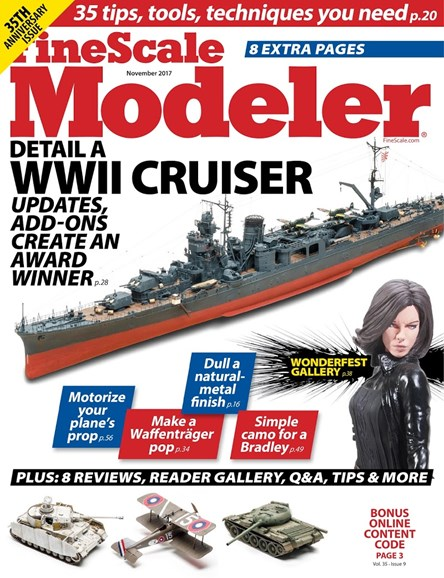 Finescale Modeler Cover - 11/1/2017