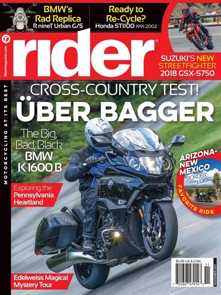 Rider Cover - 11/1/2017