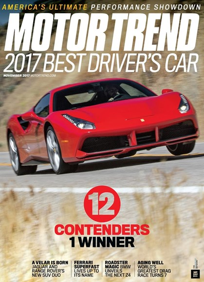 Motor Trend Cover - 11/1/2017
