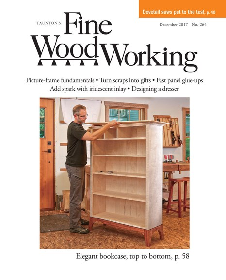 Fine Woodworking Cover - 11/1/2017