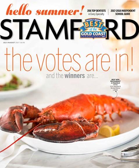 Stamford Magazine Cover - 7/1/2017