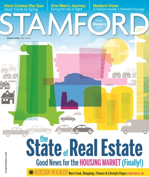 Stamford Magazine Cover - 3/1/2014
